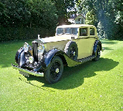 1935 Rolls Royce Phantom in Crystal Palace