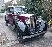 1937 Rolls Royce Phantom in Islington