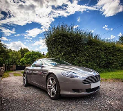 Aston Martin DB9 Hire in Central London