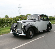 Bentley MK VI Hire in Central London