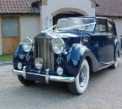 Blue Baron - Rolls Royce Silver Wraith Hire in Neithrop