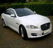 Jaguar XJL in South London