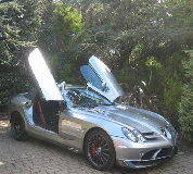 Mercedes Mclaren SLR Hire in Central London