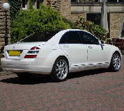 Mercedes S Class Hire in Hanwell