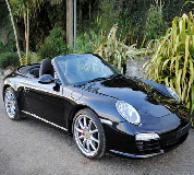 Porsche Carrera S Convertible Hire in Ilford