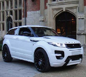Range Rover Evoque Hire in Hammersmith