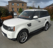 Range Rover HSE Sport Hire in Oxford
