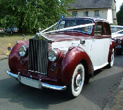 Regal Lady - Rolls Royce Silver Dawn Hire in Portsmouth
