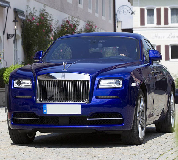 Rolls Royce Ghost - Blue Hire in Wantage