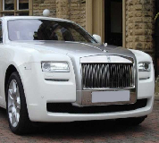Rolls Royce Ghost - White Hire in Erith