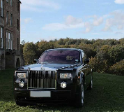 Rolls Royce Phantom - Black Hire in Burford