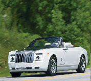 Rolls Royce Phantom Drophead Coupe Hire in West London