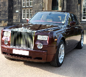 Rolls Royce Phantom - Royal Burgundy Hire in North London