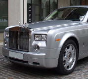 Rolls Royce Phantom - Silver Hire in Central London