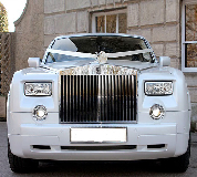 Rolls Royce Phantom - White hire  in Oxford