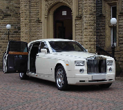 Rolls Royce Phantom Hire in Chiswick
