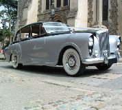 Silver Lady - Bentley Hire in East London