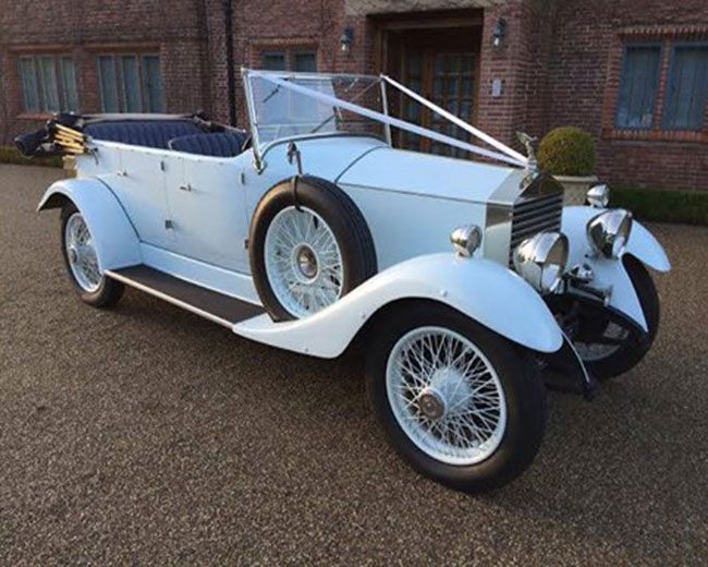 1927 Vintage Soft Top Rolls Royce